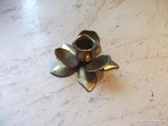 Réz virág alakú gyertyatartó eladó!