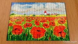 Puzzle - kortárs művész festménye a kirakón 7.