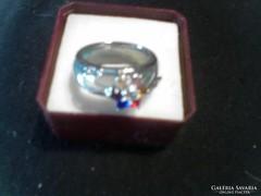 Diszitett jade gyűrű