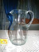 Retro üveg kancsó -  1 literes