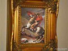 NAPOLEON LOVON: Jacques-Louis David festmény, porcelán kép