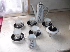 Antik porcelán kávés készlet eladó!