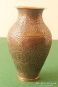 Díszes keleti váza vörösréz