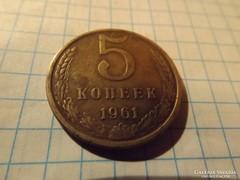5 Kopek 1961 !!  ( 3 )