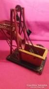 1940-es évek KELLERMANN D.R.G.M.lemez kavics bánya gép