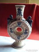 Antik Zsolnay Kulacs váza