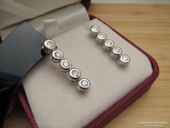 Különleges button fülbevaló - stekker - flexibilis
