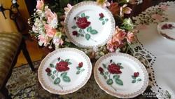 Royal Standard - Red Velvet -  angol porcelán tányérok