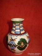 Keramos Nógrádverőce jelzett váza
