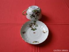 Herendi Rothschild teáscsésze + tányér