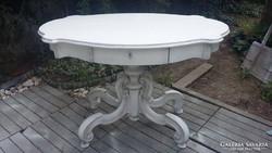 Provence antik asztal , szalon asztal