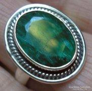 925 ezüst gyűrű, 18,5/58 mm, szillimanittal