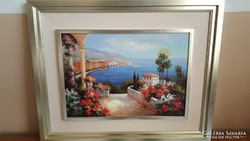 Kellemes mediterrán kép