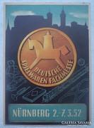 3.Deutsche Spielwaren-Fachmesse.Einladungskarte.1952