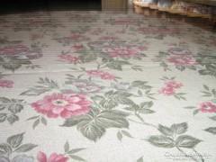Csodálatos vintage virágos nyári sötétítő függöny, ágyterítő
