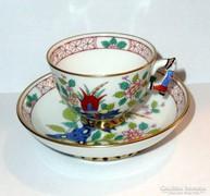 HERENDI mandarinfogós Song dekorációs kávés csésze és alj