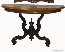 Neobarokk konzolasztal, asztal