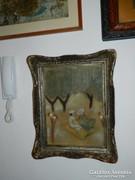 Rónai akvarell blondel keretben
