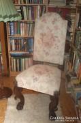 Neoreneszánsz székek.