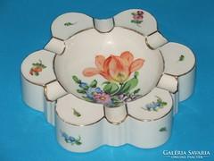 Herendi porcelán kézzel festett hamutartó