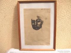Picasso Régi Múzeumi Nyomat