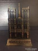 Réz levélnehezék Notre-Dame
