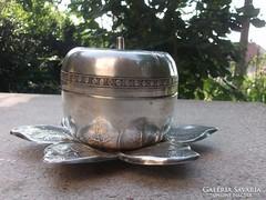 Cukortartó-cukordoboz-bonbonier 70-es évek Retro dbja
