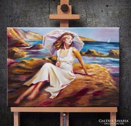 Pihenő  Festmény