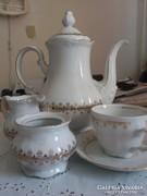 Bavaria antik Teas keszlet aranyozott