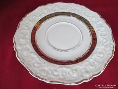 Anyagában mintás Hutshenreuther alátét tányér     0611