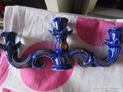 3 ágú porcelán gyertyatartó