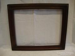 Tömör fa képkeret falc 34x42 cm