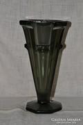 Súlyos üveg váza  ( 0021 )