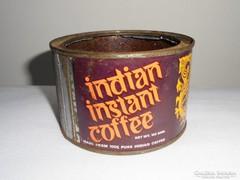 Kávés fémdoboz pléh doboz - Indian Instant Coffee