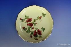 0G596 Zsolnay virág mintás porcelán hamutál
