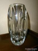 Sklo Union üveg  váza HIBÁTLAN vastag
