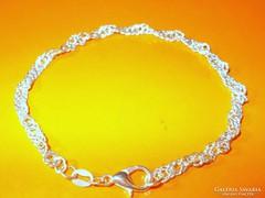CSIPKE- CSAVART 925 ezüst KARLÁNC