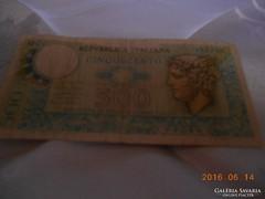 500 Olasz Líra