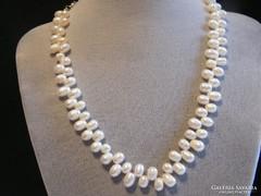 Valódi Tenyésztett gyöngy nyaklánc