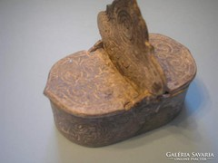 17.sz ólomból fűszertartó múzeális ritkaság U8