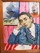Bényi Árpád festmény