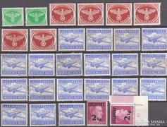 DR. Feldpost bélyegek. (*)