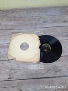 Antik, régi bakelit lemezek 01.