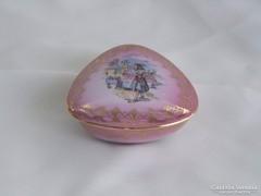 Olasz porcelán ékszertartó