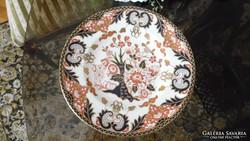 Royal Crown Derby Imari mintával díszített angol porcelán tá