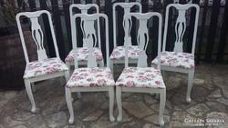 Provence neobarokk szék , székek 6 db egyben