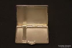 Ezüst, női cigaretta-tárca, kicsi