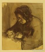 Faddi- Förstner Dénes(1901-1945):Nagyanyám
