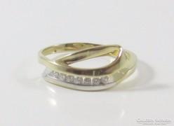 Többszínű arany gyűrű (Szh-Au61566)