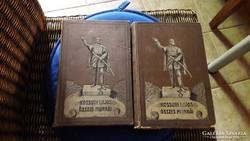 Antik könyv: Kossuth Lajos Iratai II. és a VII. kötet